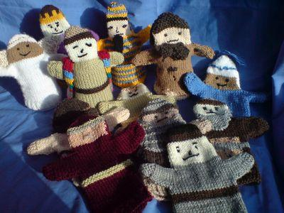 Knitting Pattern Toy Story Characters : Knit your own Bible Messy Church
