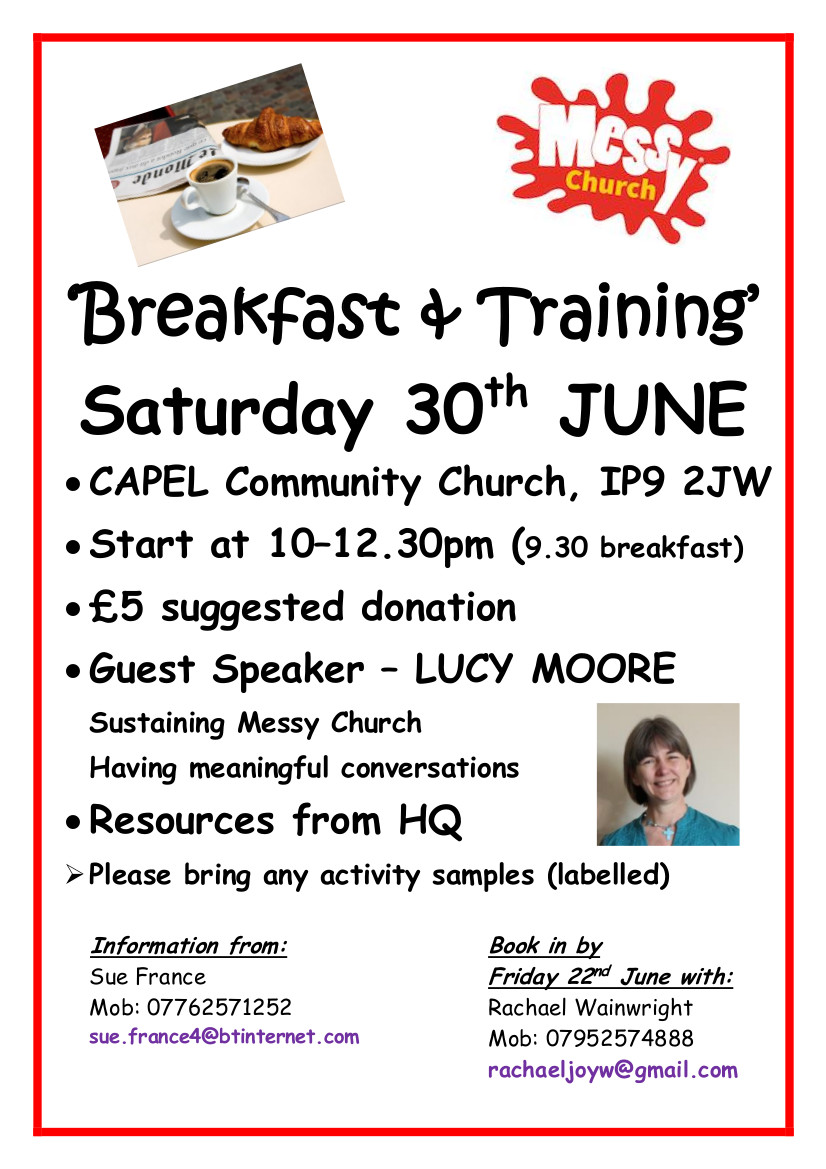 Breakfast and training event 30 June Ipswich