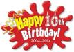 Messy 10th Birthday