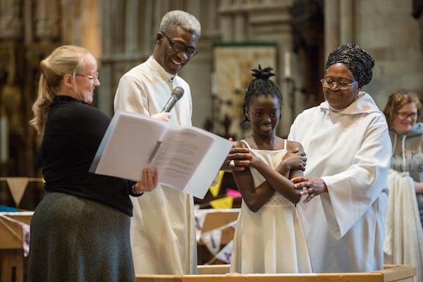 Southwark Splash baptism