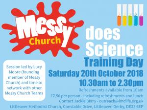 Messy Church Does Science Littleover Methodist